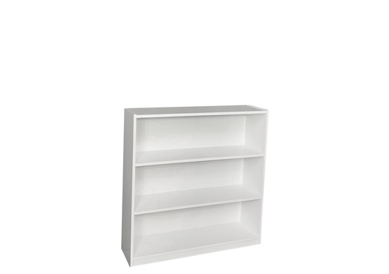 WHITE BOOKCASE - 900 x 900
