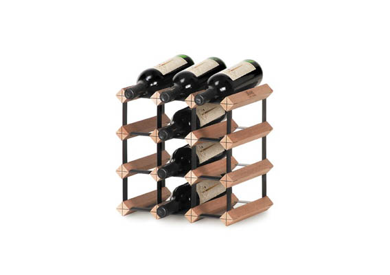BORDEX WINE RACK - 12 BOTTLE