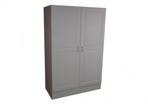 WHITE PANTRY/STORAGE UNIT - DELUXE 1140w