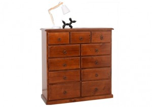 SOMERTON 11 DRAWER TALLBOY