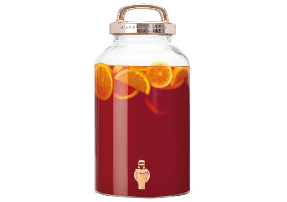 Maxwell & Williams REFRESH BEVERAGE DISPENSER COPPER 8.5L