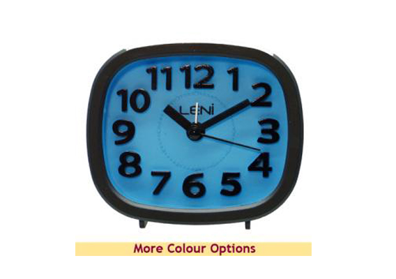 ALARM CLOCK LENI RAINBOW - BLUE