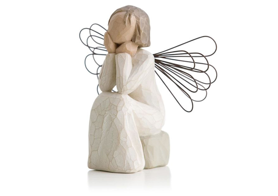 WILLOW TREE - ANGEL OF CARING FIGURINE 26079