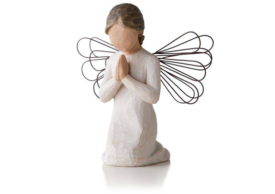 WILLOW TREE - ANGEL OF PRAYER FIGURINE 26012
