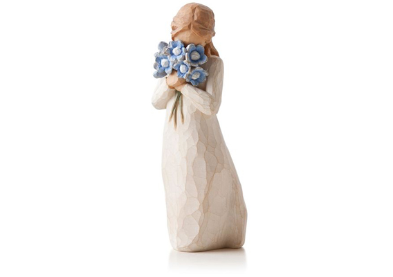 WILLOW TREE - FORGET-ME-NOT FIGURINE 26454