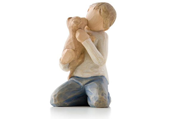 WILLOW TREE - KINDNESS (BOY) FIGURINE 26217
