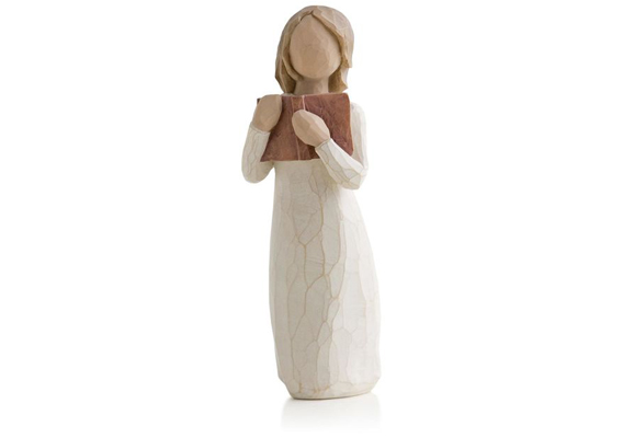 WILLOW TREE - LOVE OF LEARNING FIGURINE 14CM 26165