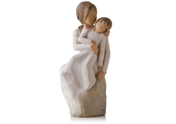 WILLOW TREE - MOTHER DAUGHTER FIGURINE, SITTING 27270