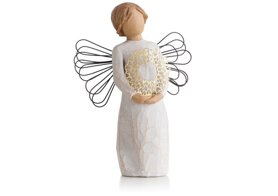 WILLOW TREE - SWEETHEART ANGEL FIGURINE 27344