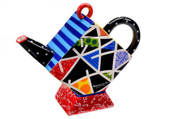 BRITTO SQUARE TEAPOT PATTERNED 333304