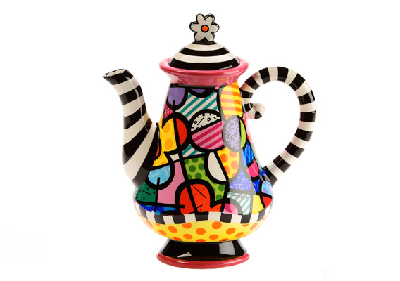 BRITTO TEAPOT FLOWERS 334157