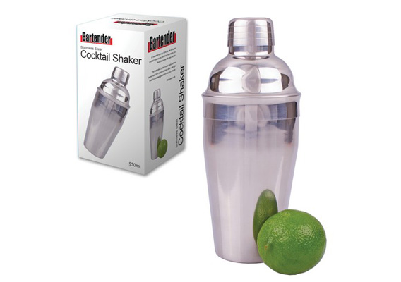 Bartender Cocktail Shaker SS 550ml