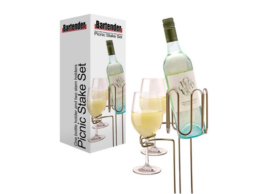 Bartender - Picnic Wine Stakes Set3