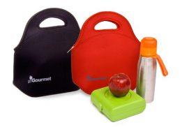 Go Insulated Go Gourmet Lunch Tote Black