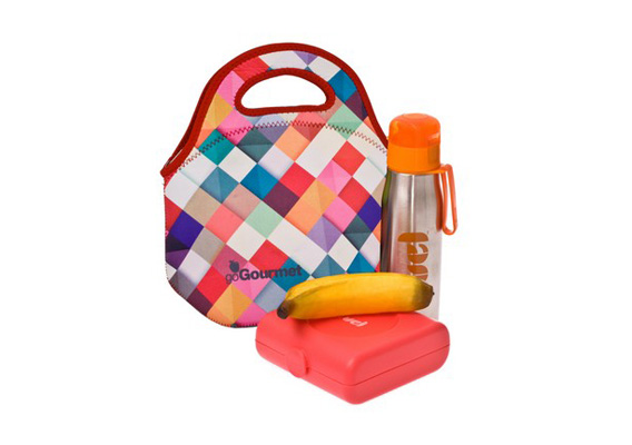 Go Insulated Go Gourmet Lunch Tote Harlequin