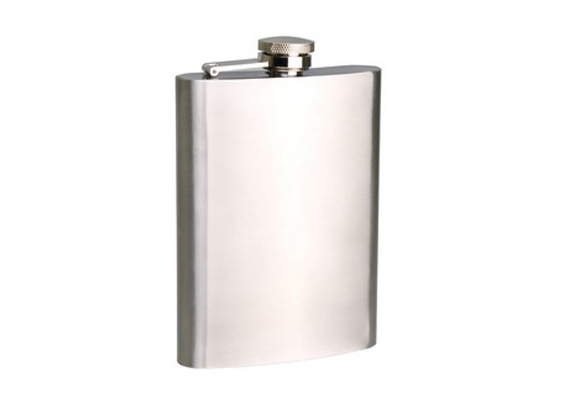 Bartender - Hip Flask S/S Plain Pattern