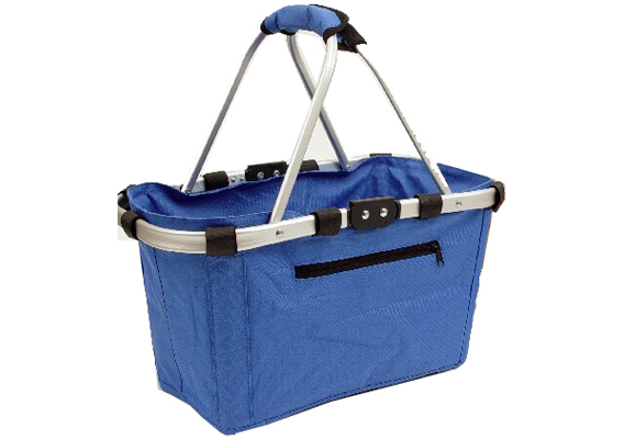 Shop & Go Carry Basket Blue