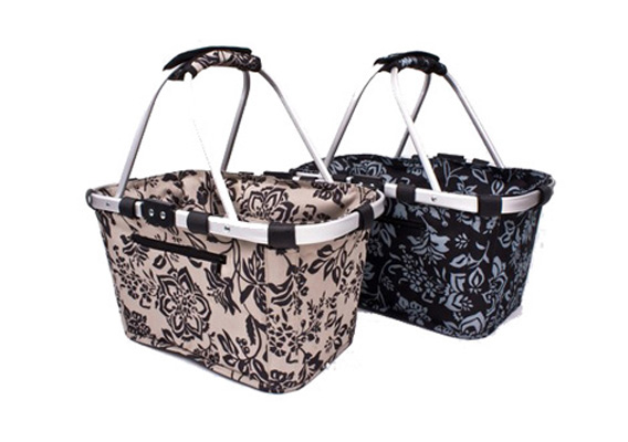 Shop & Go Carry Basket Camelia Black