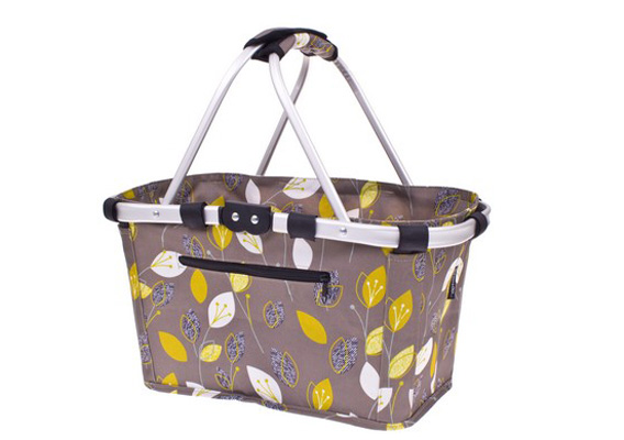 Shop & Go Carry Basket Leaf
