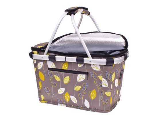 Shop & Go Insulated Carry Basket Leaf