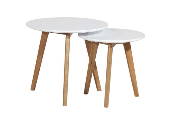 Danish lamp Tables Set2