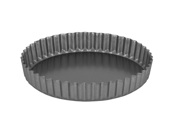 International Bakeware Quiche Flan Pan Round Loose Base 25 x 3 5cm 12218