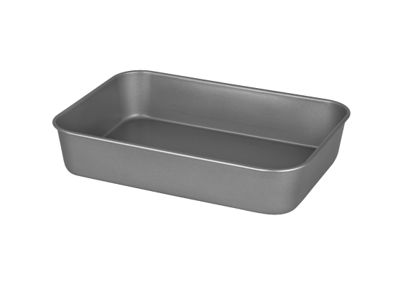 International Bakeware Roasting Pan Deep large 34x26x7cm