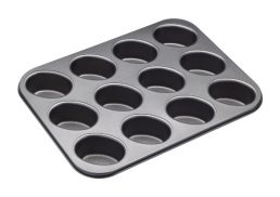 Bakemaster 12 Cup Friand Pan 26.5cm x 35.5cm - N/S