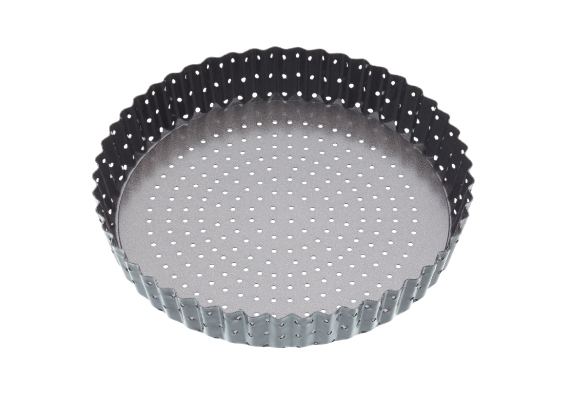 Bakemaster Crusty Bake Loose Base Rnd Flan/Quiche Pan 25 x 3.5cm