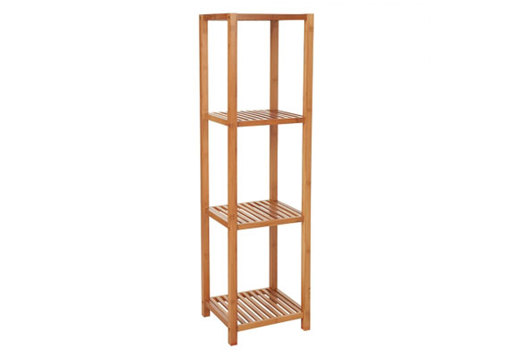 Casa Mia Bamboo Shelf 4 Tier