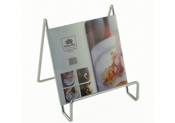 Casa Mia Chrome Cookbook Holder
