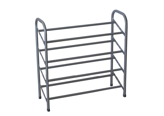 Casa Mia Shoe Rack 4 Tier Grey