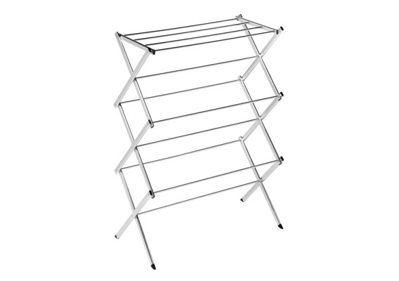 Clothes Airer Concertina Chrome