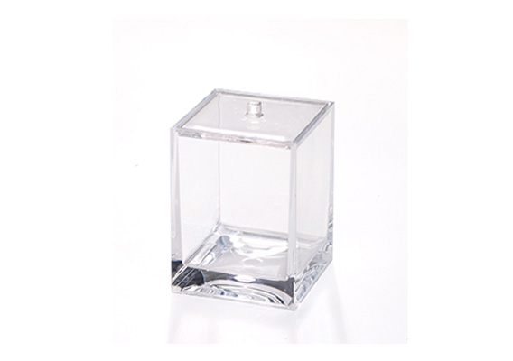 CH COTTON HOLDER CUBE CLEAR