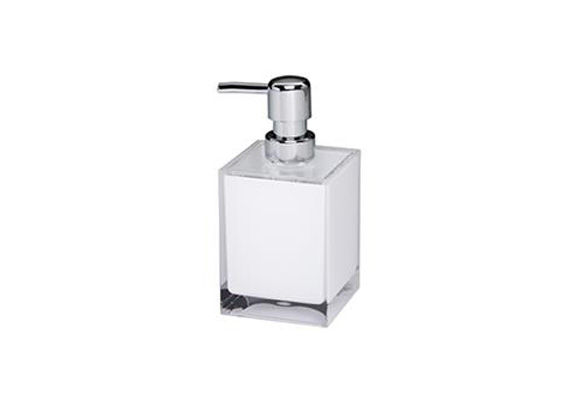 CH DISPENSER CUBE SMALL WHITE