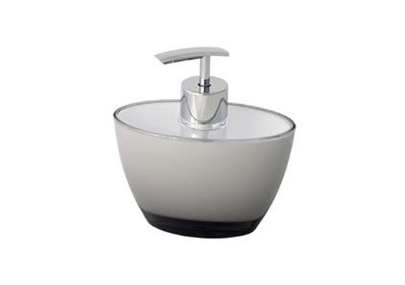 CH SOAP DISPENSER OVAL GREY