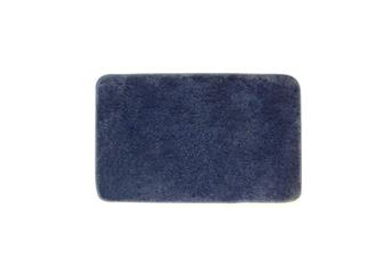 BATH MAT MICROFIBRE DENIM