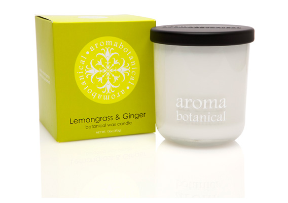 Aromabotanica Lemongrass & Ginger Candles