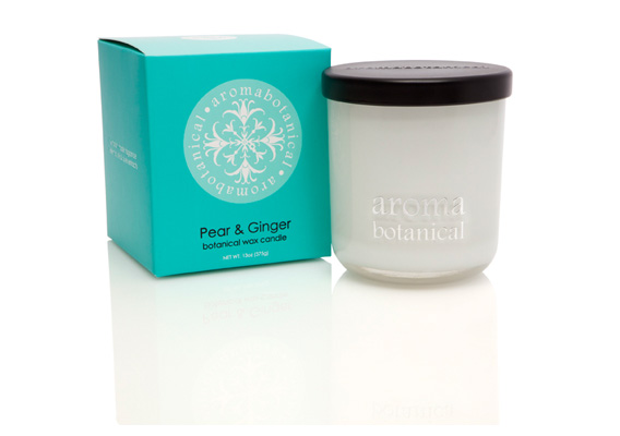 Aromabotanica Pear & Ginger Candles