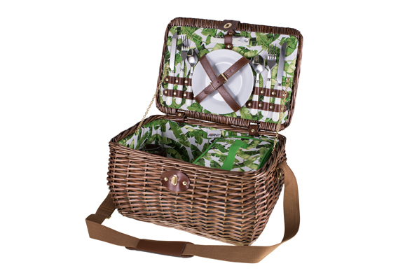 Avanti 2 Person Picnic Basket Tropical