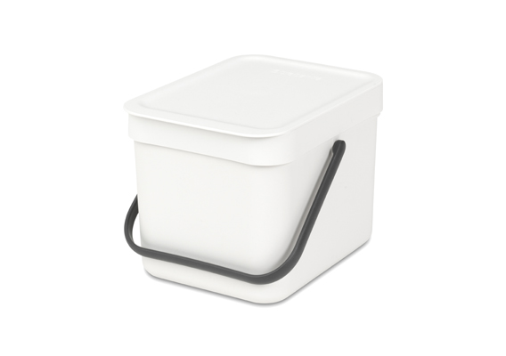 Brabantia Waste Bin Sort & Go 6l White