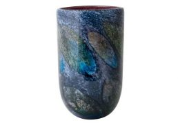 Coloured Glass Vase - Klee 16x16x26cm
