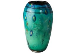 Coloured Glass Vase - Neri H 35cm