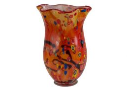 Coloured Glass Vase - Shanghai 34x34x41cm