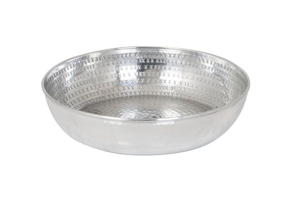 Aluminium Cross Bowl 36cm