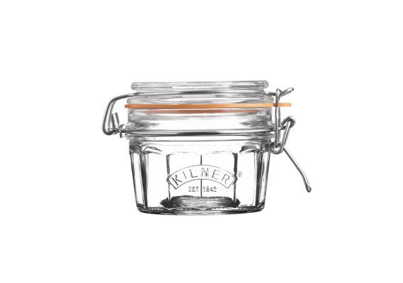 Kilner Facetted Clip Top Jar - 250ml