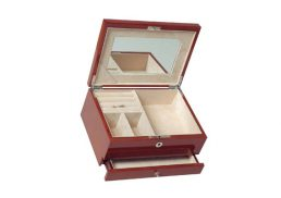 Jewellery Box 1Drawer Walnut HR RB19W