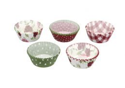 Kitchencraft Cake Cases pk250 7cm Garden Party
