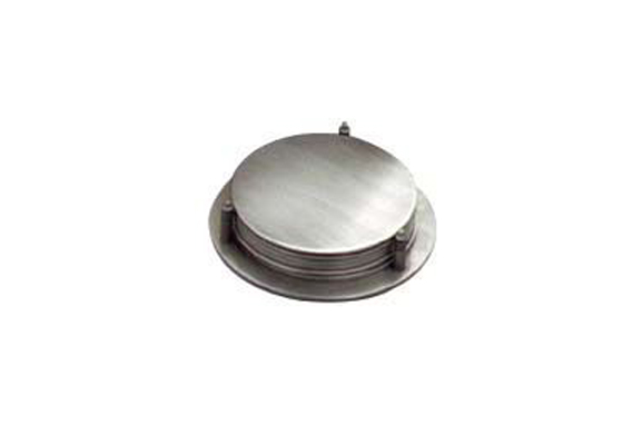 Pewter Coasters w Stand Set 6