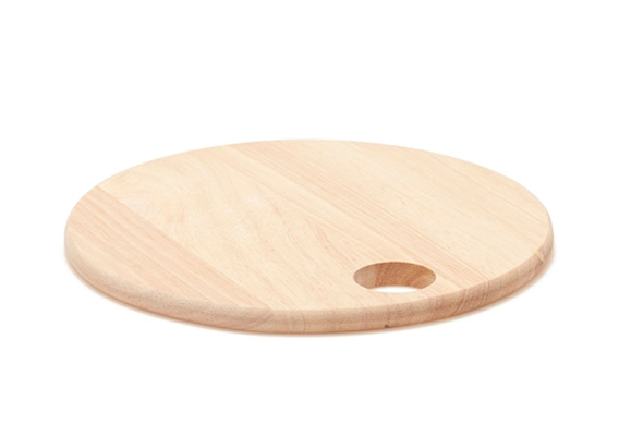Salt & Pepper Timber Round Board 18X18X1CM
